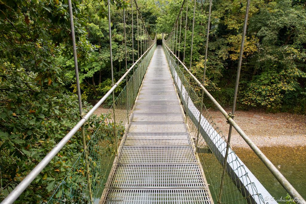 Puente sobre el río Sella (Dego)