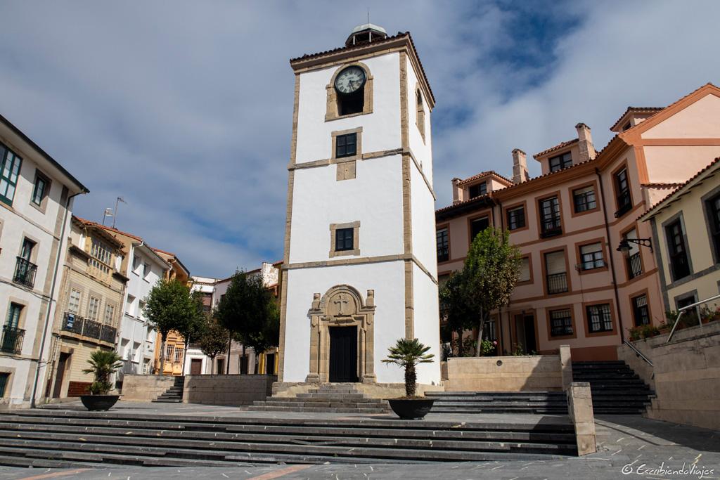 Torre del reloj (Luanco)