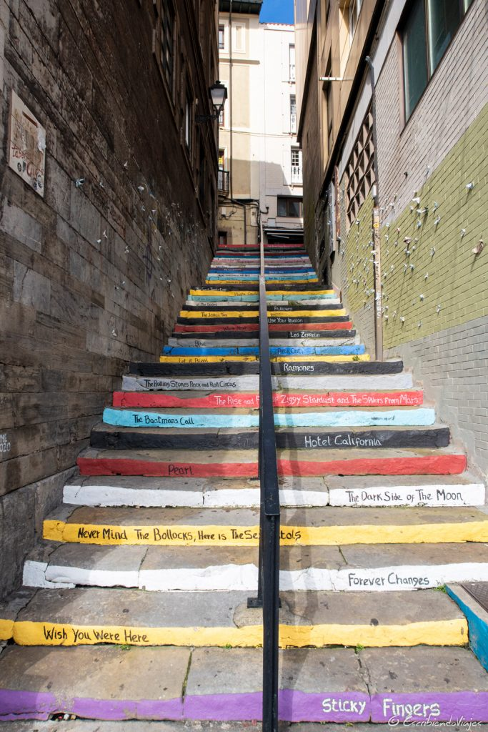 Escaleras de colores (Gijón)